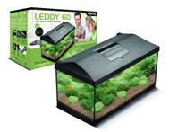 Aquael Aquariumset Leddy RE 60cm schwarz