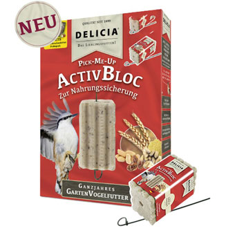 Delicia Pick-Me-Up AktivBlock 12 Stück