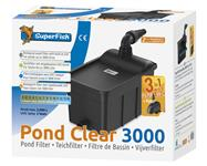 Pond Clear Kit 3000 UVC-5W, inkl. Pumpe 1000L - Teichfilter
