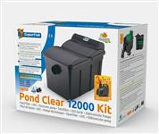 Pond Clear 12000 UVC-13W, + Pumpe 5000L/H - Teichfilter-Set