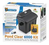 Pond Clear Kit 6000 UVC-7W + Pumpe 3500L/H - Filter