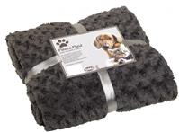 "Fleecedecke ""Super Soft"" grau, L, 150x200cm"