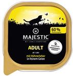 Hühnchenleber in Gelee - 100g - Adult - Schale - Majestic