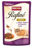 Rafine - Rind + Nudeln in Tomatensauce - Adult - 100g