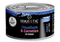 Thunfisch & Garnele in Gelee - Adult - 100g - Majestic