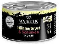 Hühnerbrust & Schinken in Gelee - Adult - 100g - Majestic