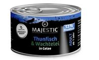 Thunfisch & Wachtelei in Gelee - Adult - 100g - Majestic