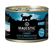 Majestic Junior Dog - Kalb + Süßkartoffel - 200g