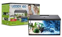 Aquael Aquariumset Leddy Day&Night RE  - 60cm schwarz