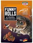 Perfecto Cat Funny Rolls mit Huhn & Lebergeschmack - 180g