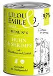 Adult Menu Nr.6 - Huhn & Shrimps - 400g