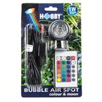 Bubble Air Spot - colour & moon -  Led mit Ausströmer