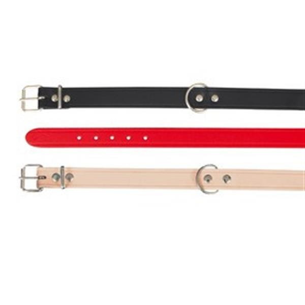 Halsband Basic L 45-54cm/ 22mm rot