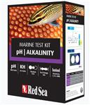 Red Sea pHAlkalinity Marine Test Kit - 100xpH - 55xKH