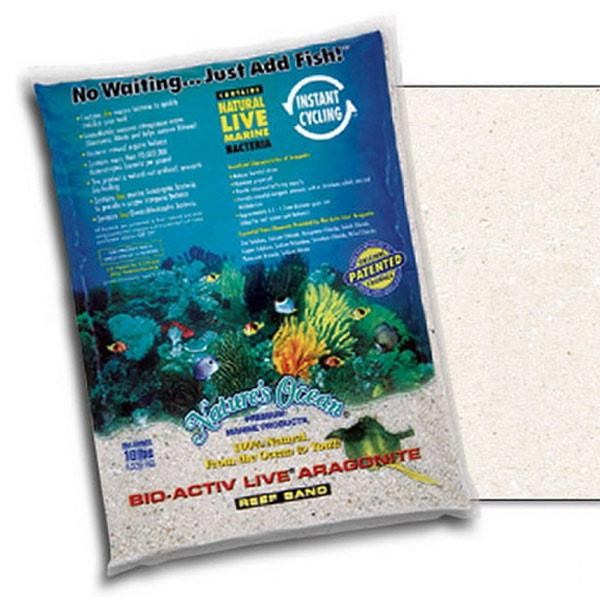 Live Sand Natural White 0,1-0,5mm - 9,07kg
