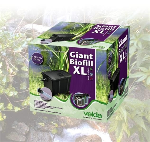 Giant Biofill Set 20000  UV-C 18W-HS6000+Silent