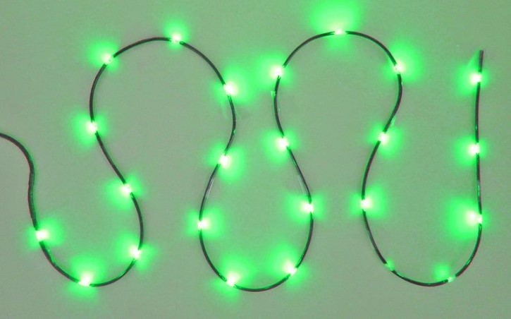 Orbit Led Cable Light green Dekobeleuchtung