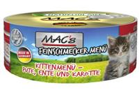 Macs Cat Feinschmecker Kitten, Ente/Pute 100g