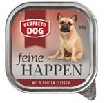 Perfecto Dog - Feine Happen 5 Sorten Fleisch - 300g