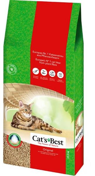 Cats Best - Original - 17,2kg - klumpend